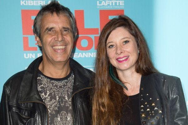 Julien Clerc et sa femme