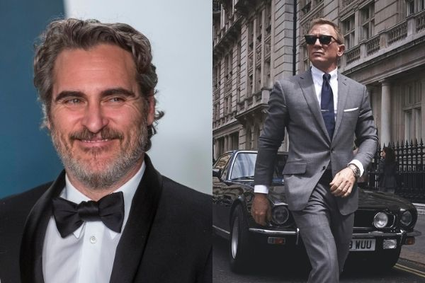 James Bond et Joaquin Phoenix