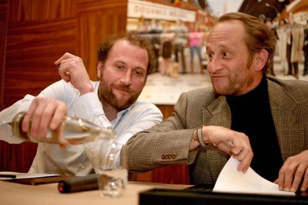 Benoit Poelvoorde et François Damiens