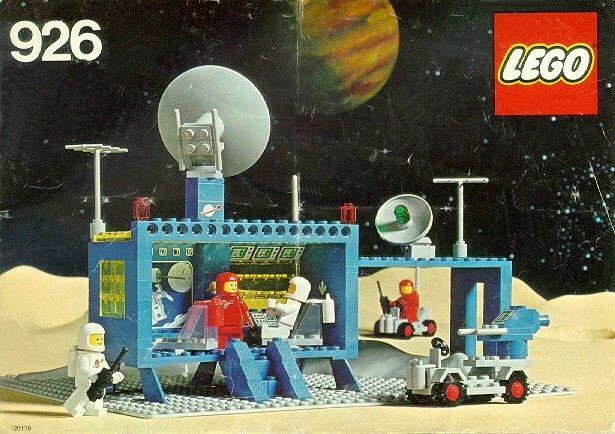 Centre de commandement spatial LEGO