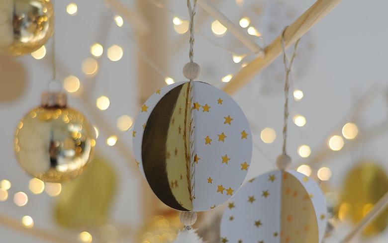 boule Noël bricolage