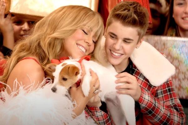 Mariah Carey Justin Bieber Christmas