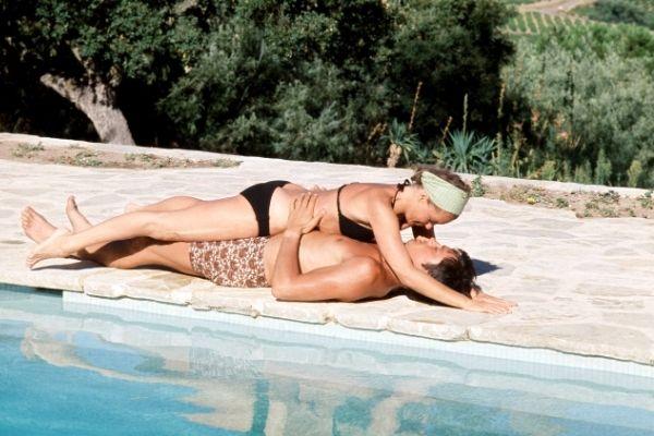 alain delon la piscine