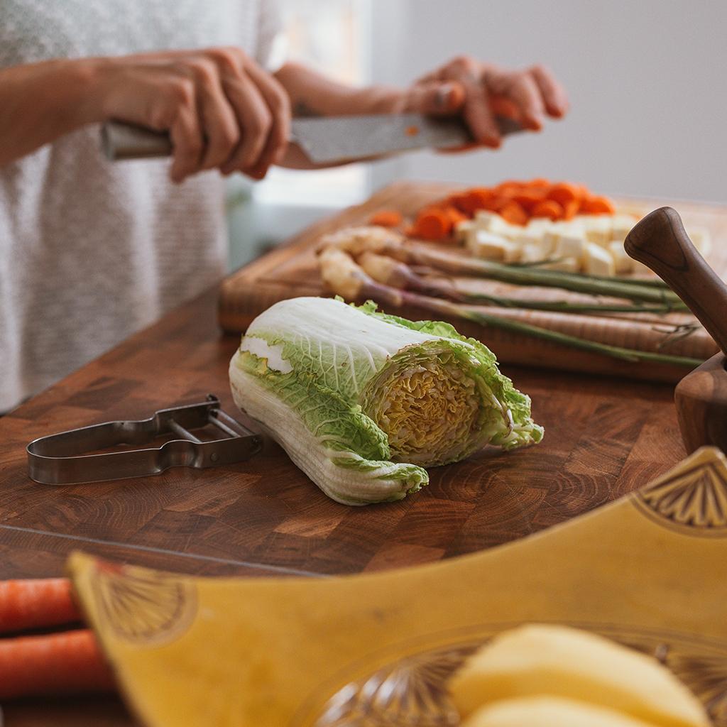 Légumes en cuisine