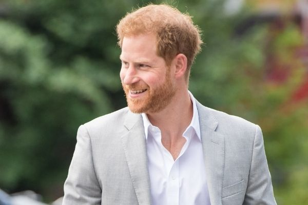 Le Prince Harry d'Angleterre