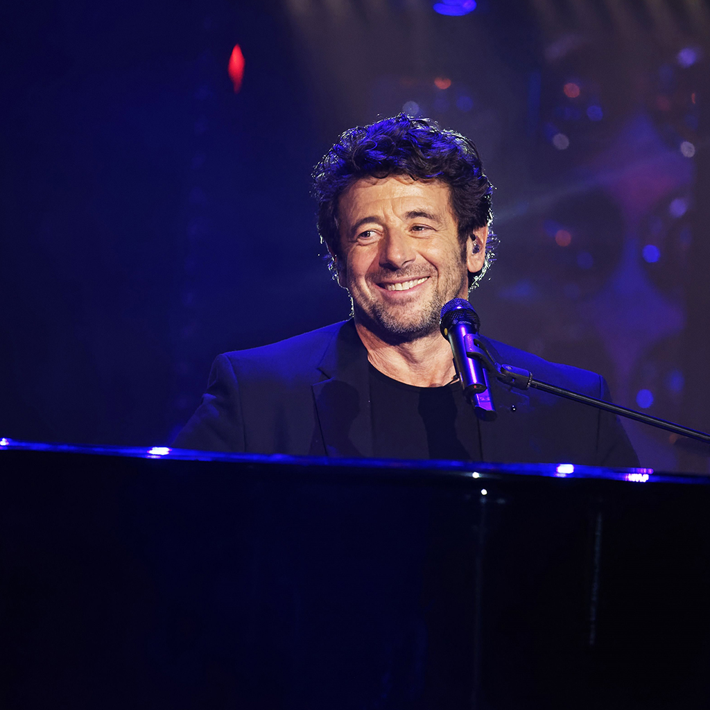 Patrick Bruel au piano