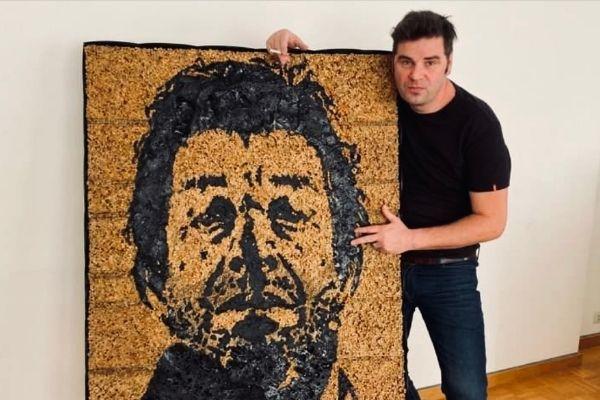 Serge Gainsbourg mégots de cigarettes