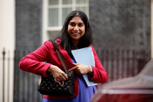 Suella Braverman à Downing Street