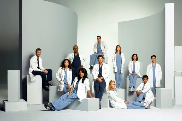 Grey's anatomy groupe