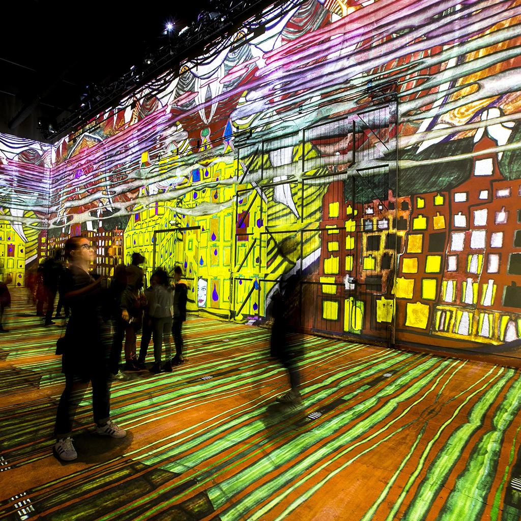 Expo Immersive Gustav Klimt