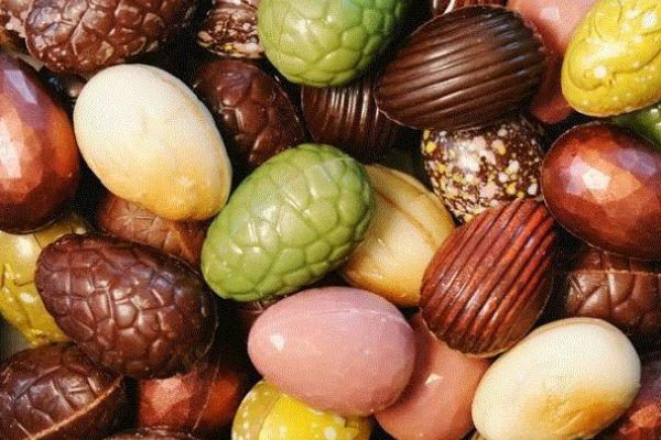 Oeufs en chocolat Belgian chocolatiers