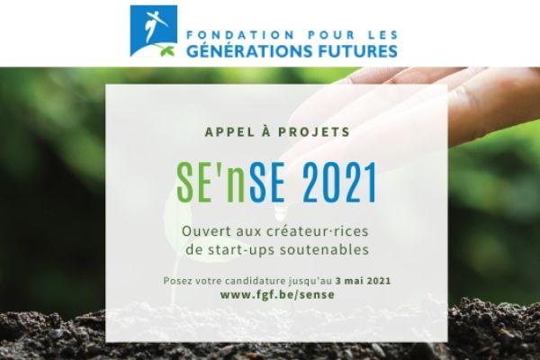 Fondation pour les générations futures appel à projets sense