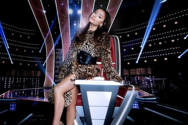 Ariana Grande the voice
