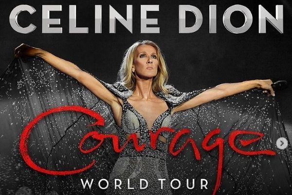 Céline Dion Courage Tour