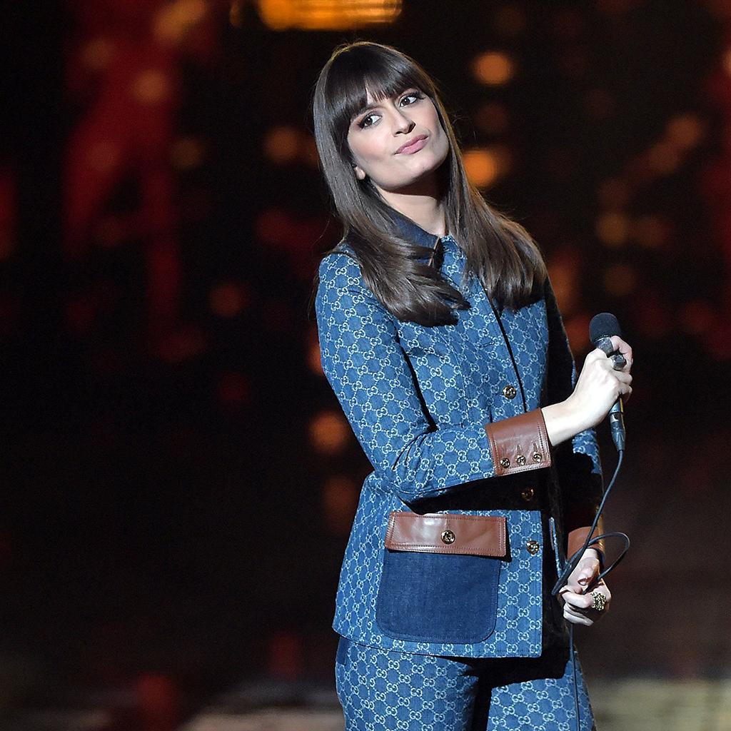 Clara Luciani sur scène