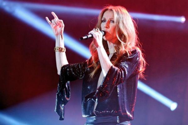 Celine Dion Anvers noir