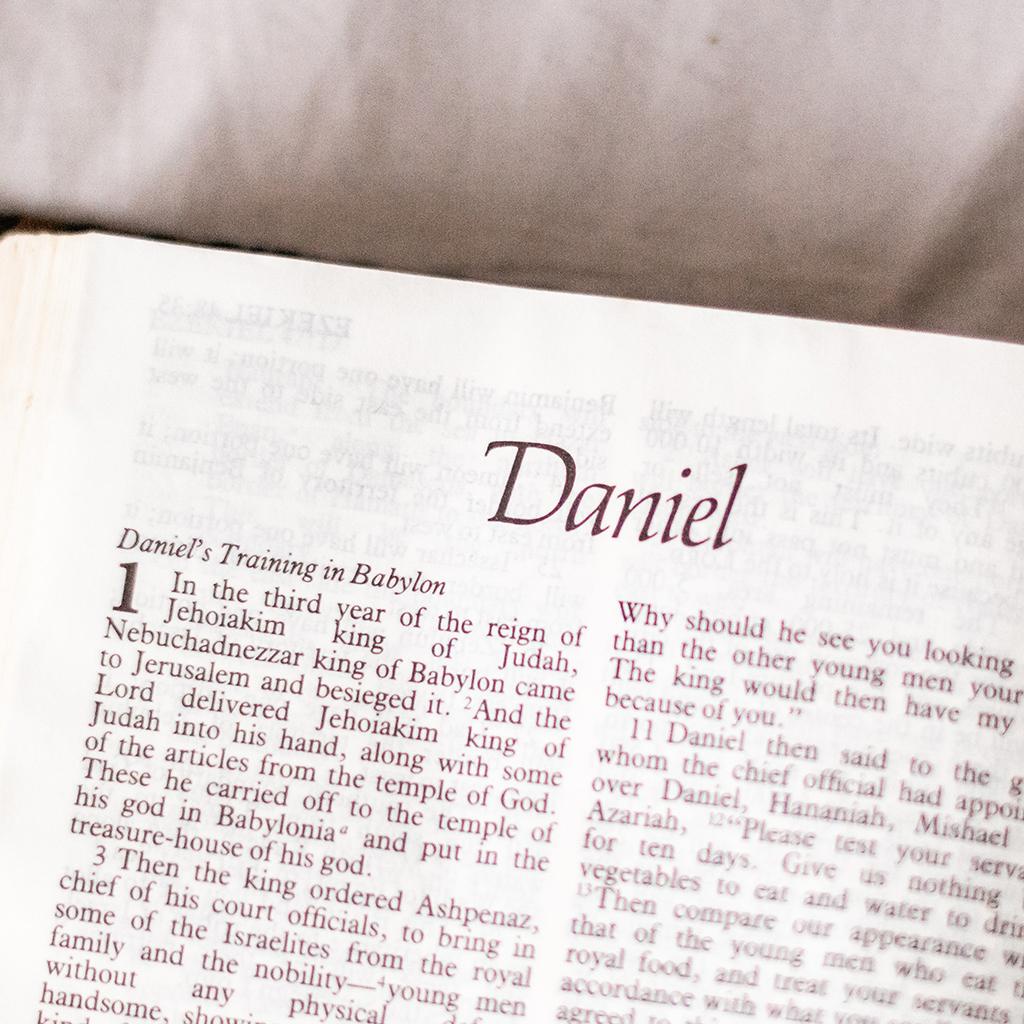 """Prénom """"Daniel"""" dans un livre"""