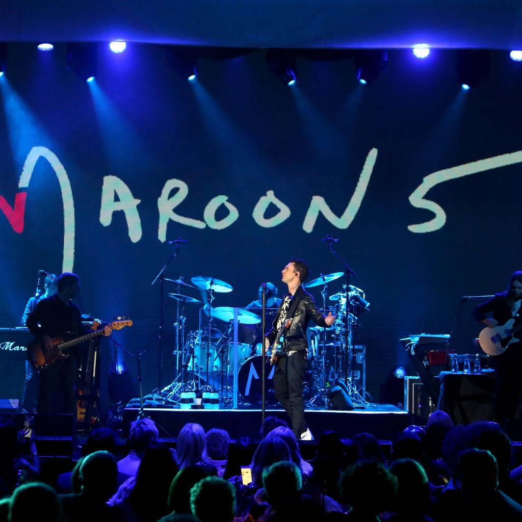 Maroon 5 sur scène