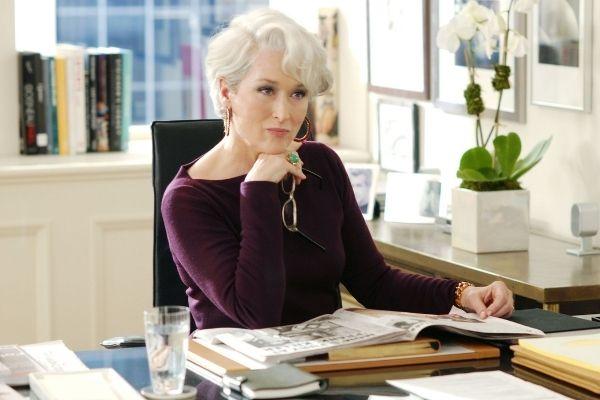 Meryl Streep diable s'habille en prada