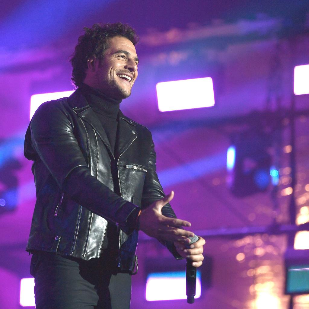 Amir sur scène