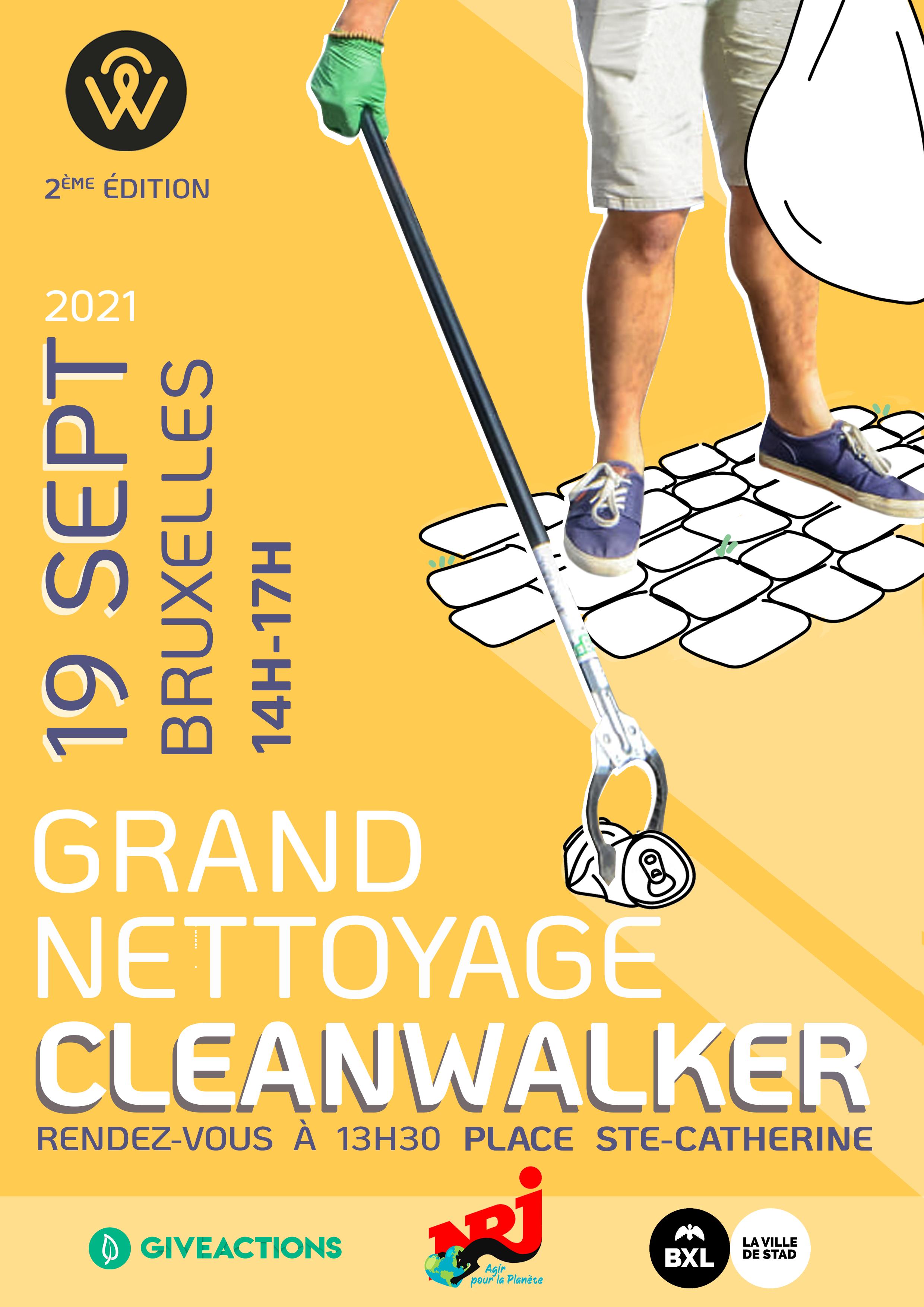 affiche clean walk 21