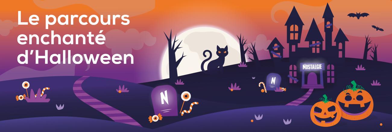 Le parcours enchanté d'Halloween