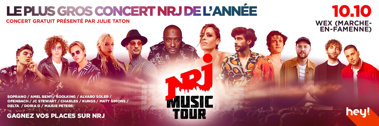 NRJ Music Tour Wex 2021 Sponsor