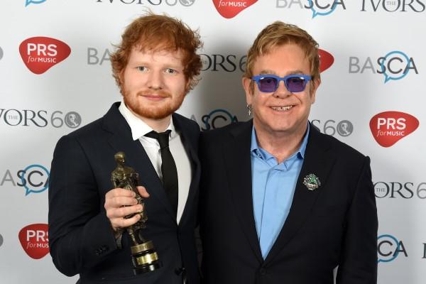 Elton John et Ed Sheeran
