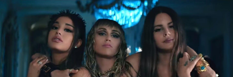 Ariana Grande, Miley Cyrus et Lana Del Rey