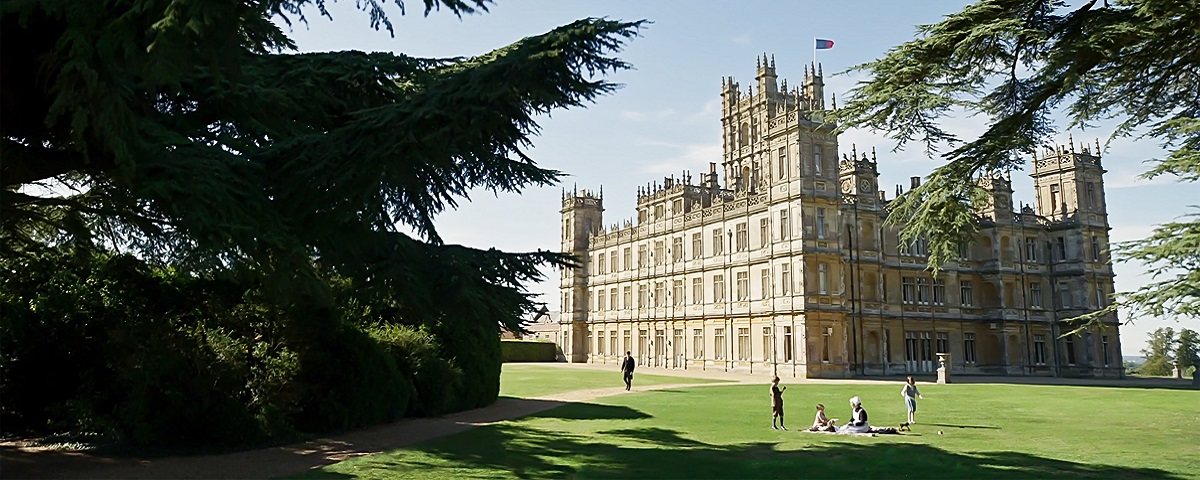 Downton abbey château