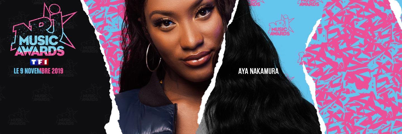 NRJ Music Awards 2019 - header Aya Nakamura