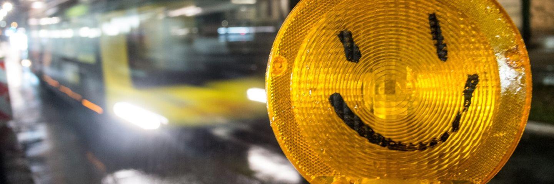 smiley panneau