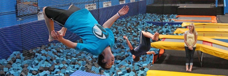 saut trampoline