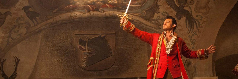 Gaston la belle et la bête Luke Evans
